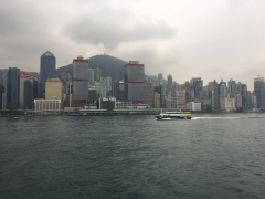Yet another view of Hong Kong islands. More big buildings.