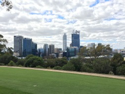Perth's skyline.