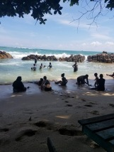 A sweet family from Colombo joined our frolick at Secret Beach.
