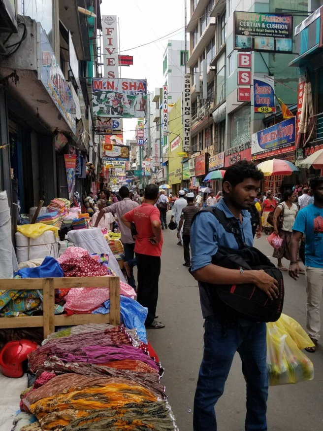 Shopping day in Pettah.