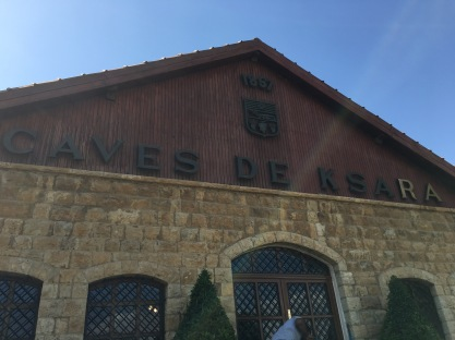 The front of the Ksara winery.