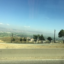 This is what most of the drive to Beqaa looked like.