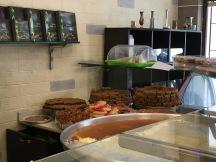 The sweet counter at Rafic Al Rashidi.