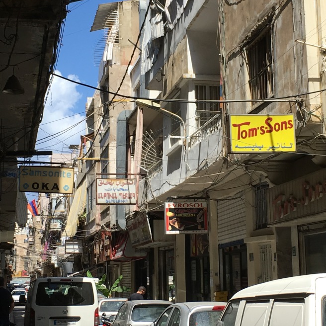 Bourj Hammoud was filled with these cool old streets.
