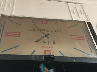 The Leopold Cafe was quite the time capsule.