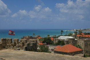 A view of the port of Byblos. It was pretty stunning.