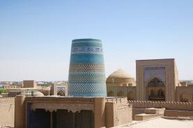 Khiva is pretty darn scenic.