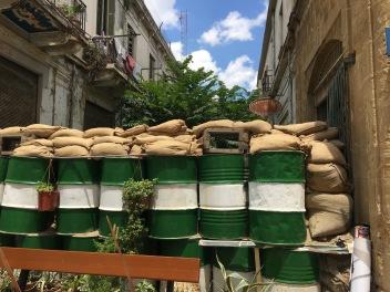 Sand barrels!!! Oh, we've missed you Middle East.
