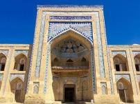 The entrance to a madrassa.