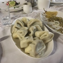 Some non-gross meat dumplings we had on our food and wine tour.