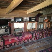 Amazing old radios and TVs in Kakheti.
