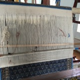 They make silk rugs out of the lesser quality silk threads.