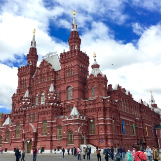 The center of Red Square.