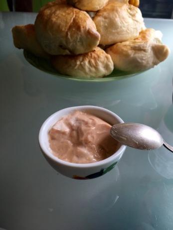 My baked milk delight. I'm so in love.