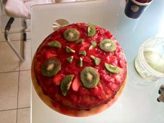 Olga's amazing cake.