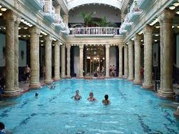 There's also some normal pools, for stuff like water aerobics.