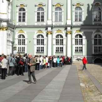 hermitage crowds