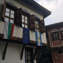 An Ottoman era merchant house in Plovdiv's old city.