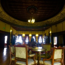 The interior of Hisar Kapia was very cool - the preservation of the wood work was stunning.
