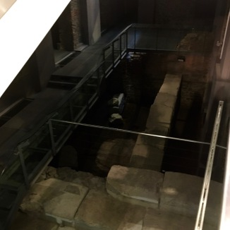 The basement of the H&M. Yeah, that's just a Roman era hippodrome. NBD.