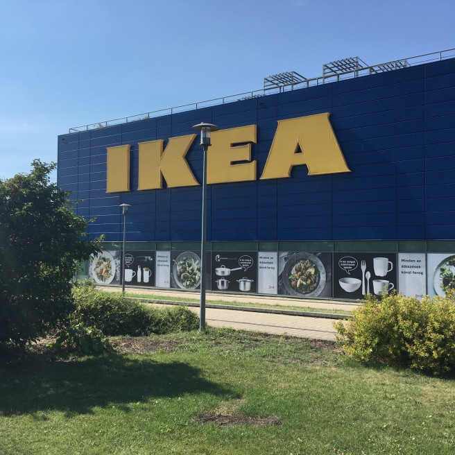 IKEA Budapest. Ah, that tourism magnet.