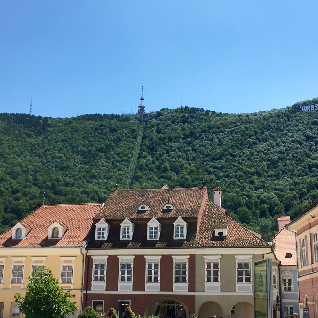 Cute little Brașov.