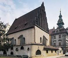 The Old-New Synagogue in Prague.
