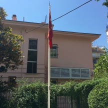 The Turkish embassy, and our second inadvertent Turkish excursion.