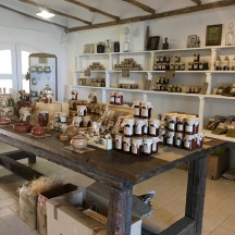 The store at the olive oil farm sold so many treats. I need to do grocery shopping trips here in the future.