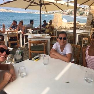 Me, Sabah, and Callie at Prima Plora.