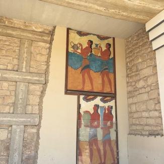 Minoan mosaics ala amateur archeologists.