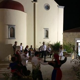 Some dancing in Kastamonitsa's square.