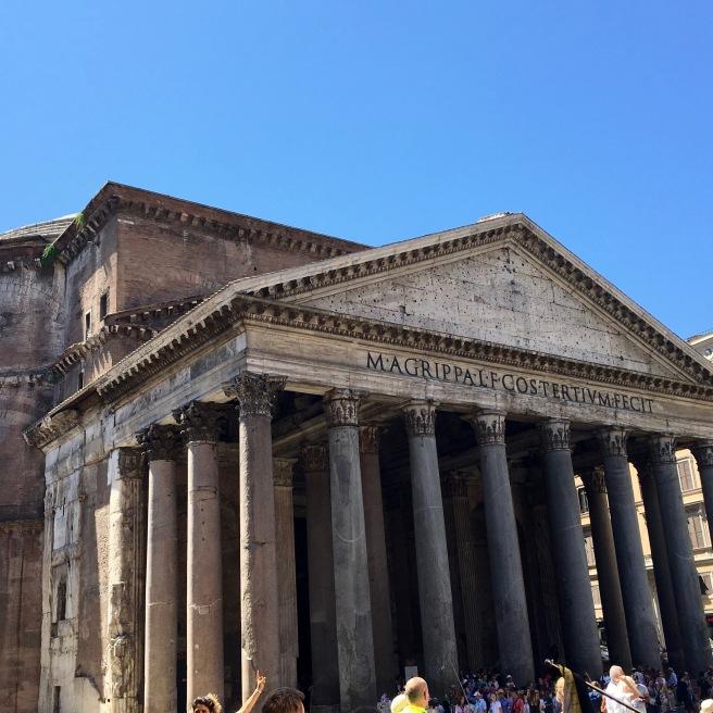 The Pantheon. It was weird.