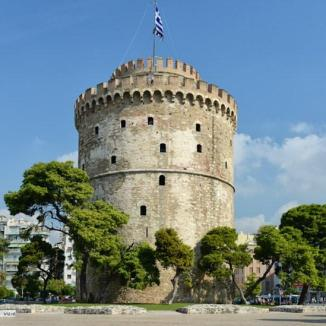 The Byzantine 'White Tower' was a prison and now houses a great history museum.