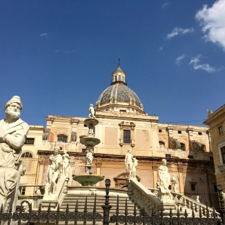 Palermo - gaudy and glorious.