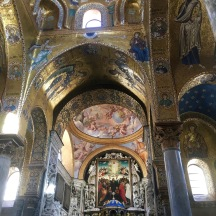 A fabulous interior of an Arab-Norman church.