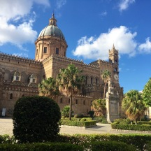The exterior of the Palatine Chapel in Palermo.