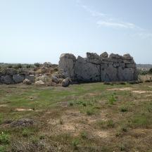 The Ggantija Temple on Gozo.