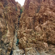The canyon walls at Todra Gorge. Huge!